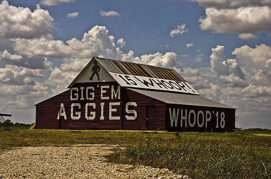 Western-Aggie Barn-Color by Matthew Miller