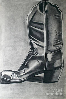 Western Boot by Cecilia Stevens