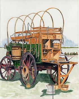 Western chuck Wagon by Gary Roderer