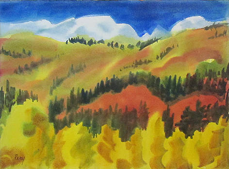 Western Hills by Pat Percy