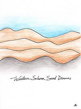 Anna Elkins - Western Sahara Sand Dunes 1