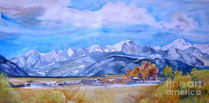 Western Slope Mountains Colorado Landscape by Reveille Kennedy
