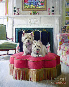 Candace Lovely - Westies in the Living Room