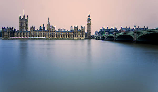 Westminster Palace in London by Luca Battistella