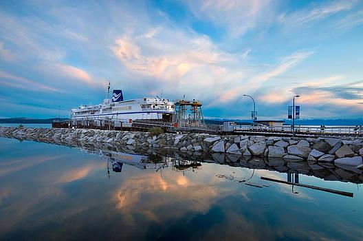 Westview Blue Hour by Darren Bradley