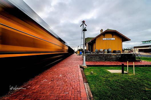 Westward Bound Train by Jeffrey W Spencer