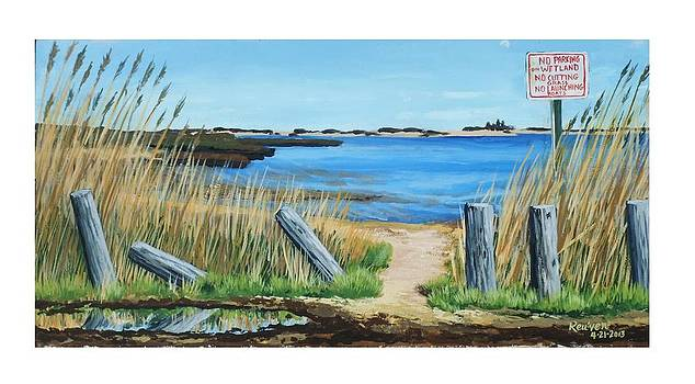 Wet Lands at Mastic Beach by Reuven Gayle