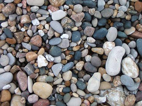 Wet Pebbles by Margaret McDermott