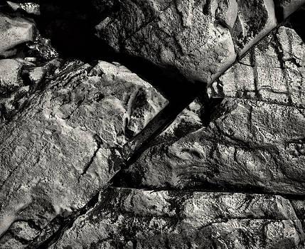 Wet Rocks by Jonathan Wilkins