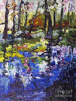 Ginette Callaway - Wetland Reflections Modern Impressionism