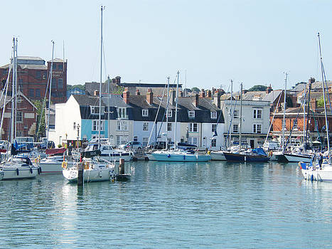 Weymouth and Portland Harbour by Moya Moon
