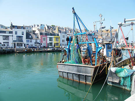 Weymouth Harbour - Dorset by Moya Moon