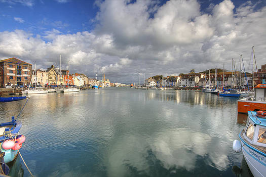 Weymouth Harbour Entrance by David Valentyne