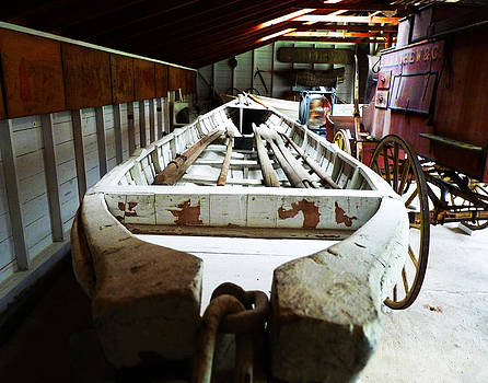 Whale Boat And Carriage by Carl Sheffer