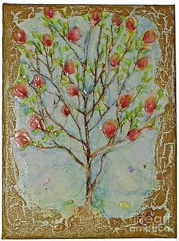 What Alice saw in the magic garden by Olga Blushtein