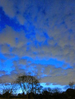What Dream Does The Morning Sky Say To Me? by Guy Ricketts