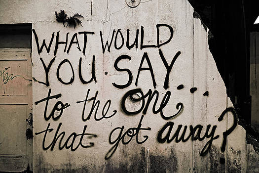 What Would You Say to the One That Got Away by Louis Maistros