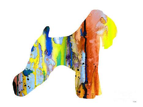 Wheaten Terrier 2 by Watercolor Girl