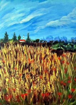 Wheatfield by Lia  Marsman