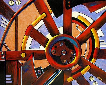 Wheel of Fortune by JAXINE Cummins