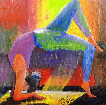 Wheel Pose by Katie Wolff
