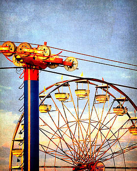 Wheels at the State Fair by Dick Wood