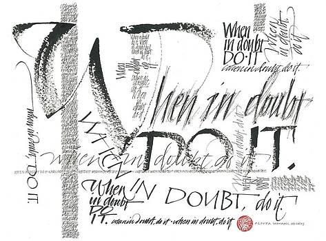 When In Doubt by Sally Penley