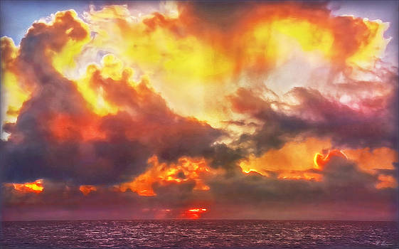 When Skies Become Abstract by Hanny Heim
