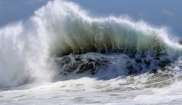 When Waves Collide by Ron  Romanosky