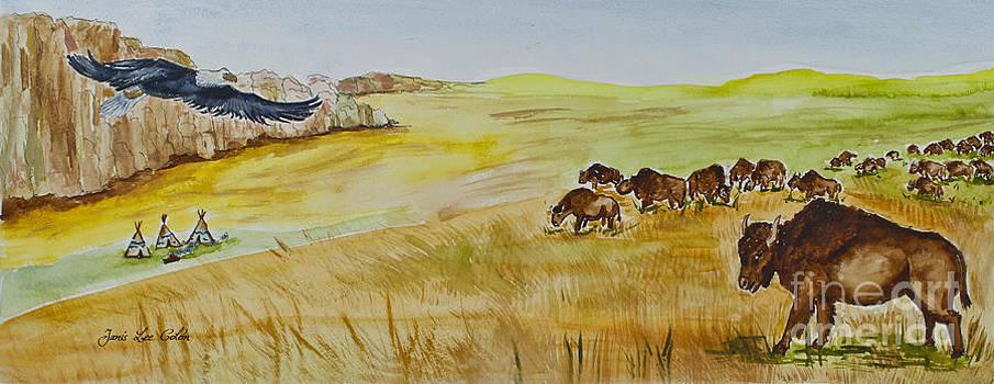 Where The Buffalo Roam by Janis Lee Colon