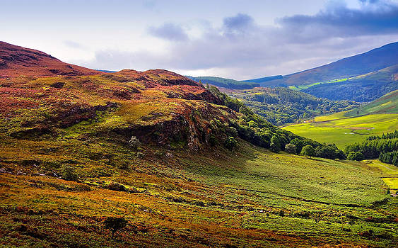 Jenny Rainbow - Where the Soul is Flying. Wicklow Hills. Ireland
