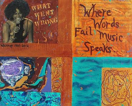 Where Words Fail Music Speaks I  by Victoria  Johns