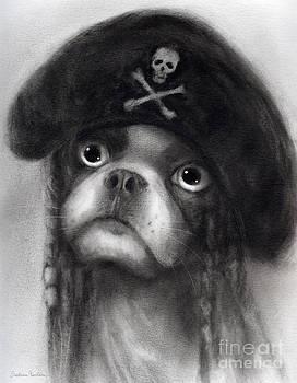 Svetlana Novikova - Whimsical Funny French Bulldog Pirate