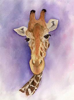Whimsical Giraffe by Jan Gibson