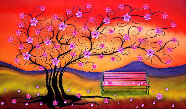 Nina Bradica - Whimsy Cherry Blossom Tree-1