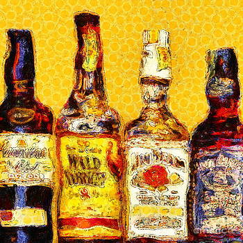 Wingsdomain Art and Photography - Whiskeys Inspired By Van Gogh 20140917 square