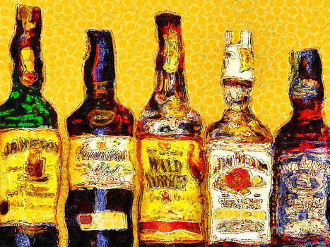 Wingsdomain Art and Photography - Whiskeys Inspired By Van Gogh 20140917