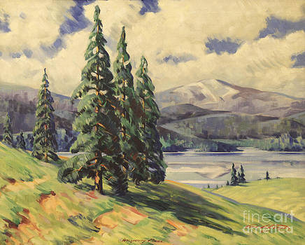 Art By Tolpo Collection - Whispering Pines 1937
