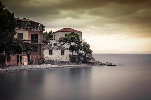Whispers of autumn on top on the sea by Stavros Argyropoulos