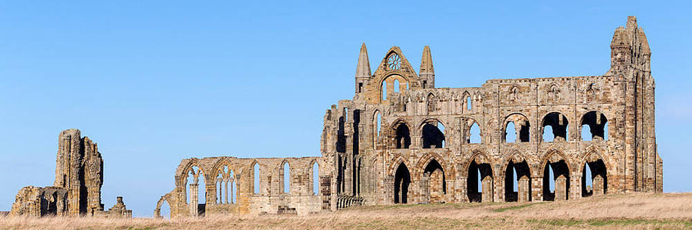 Whitby Abbey panorama by Paul Cowan
