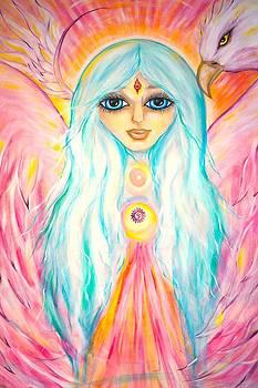 White Angel by Marley Art