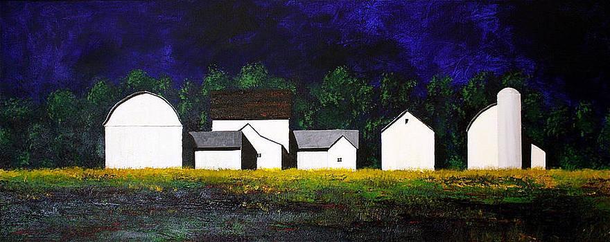 White Barns by William Renzulli