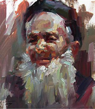 White beard by Tony Song