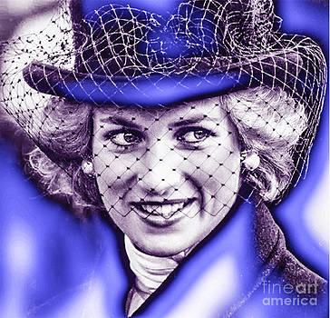 Algirdas Lukas - White blue Diana