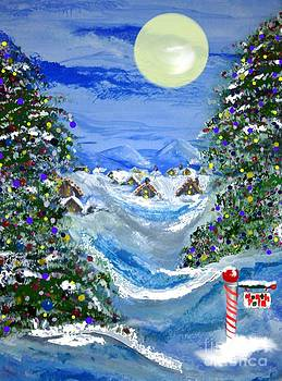 White Christmas At The North Pole by Lori  Lovetere