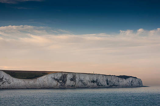White cliffs of Dover by Paul Indigo