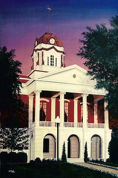 White County Courthouse by Glenn Pollard