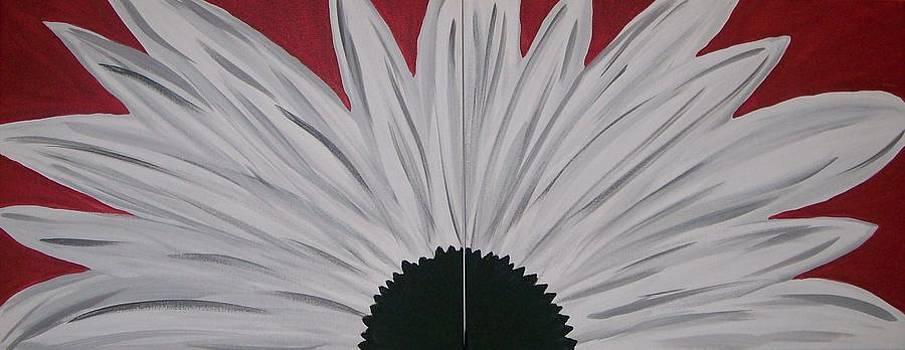 White Daisy by Kate McTavish