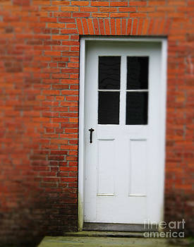 White Door by Pamela Walters