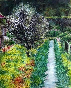 Aditi Bhatt - White flower tree